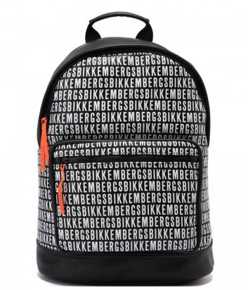 Рюкзак BIKKEMBERGS E2APME810075B01 черный с принтом