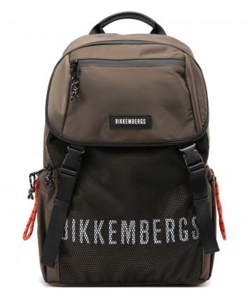 Рюкзак BIKKEMBERGS E2APME830045077 цвета хаки