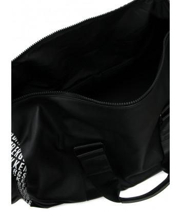Дорожная сумка BIKKEMBERGS E2APME81006ZB01 черная с принтом
