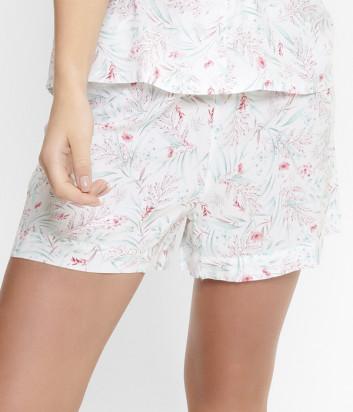 Пижамные шорты LINGADORE 5025SH с цветочным принтом