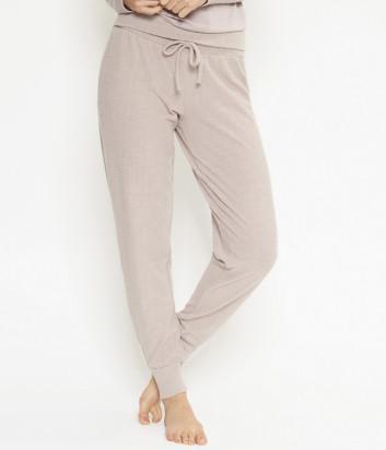 Пижамные брюки LINGADORE 4435 на манжетах лиловые