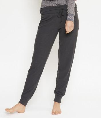 Пижамные брюки LINGADORE 4435 на манжетах серые