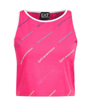 Топ EA7 EMPORIO ARMANI 3HTH55 TJ29Z розовый