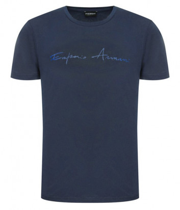 Футболка EMPORIO ARMANI 211818 0P466 синяя