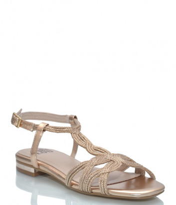 Кожаные сандалии BIBI LOU 838 золотистые