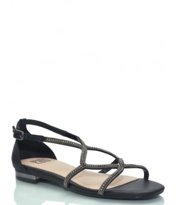 Кожаные сандалии BIBI LOU 867 черные