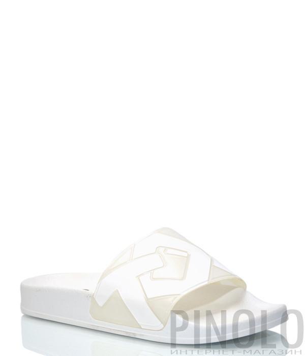 Шлепанцы TOWN 191 Lombok J Logo белые