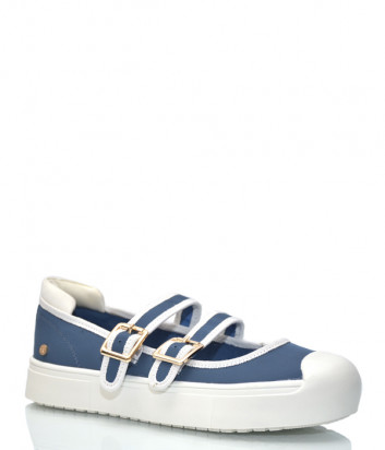 Туфли ROCCOBAROCCO с застежками синие