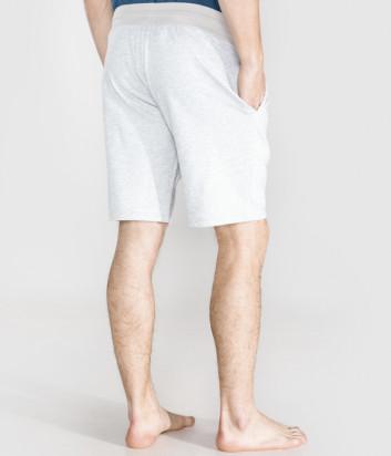 Хлопковые шорты EMPORIO ARMANI 111004 9P571 серые