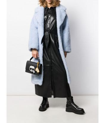 Компактная сумка Karl Lagerfeld 201W3124 черная с пиксельным рисунком