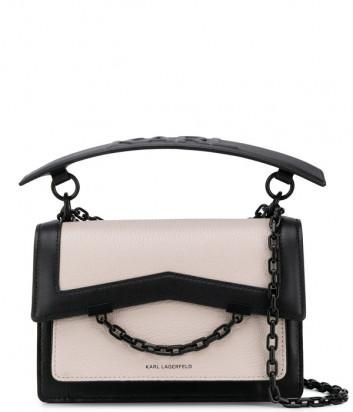 Кожаная сумка KARL LAGERFELD SEVEN 201W3058 комбинированная