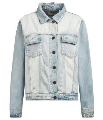 Джинсовая куртка ONE TEASPOON 23034 голубая