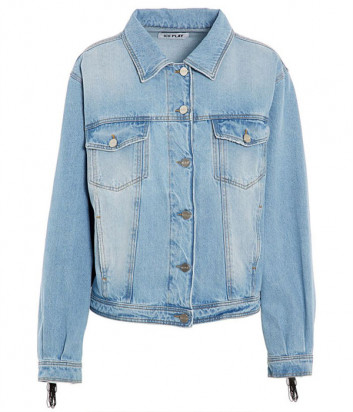Джинсовая куртка ICE PLAY O0616029 с бахромой на спине