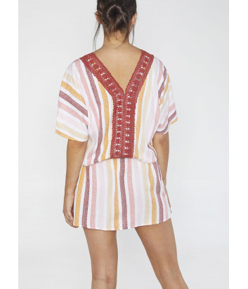 Платье-туника YSABEL MORA Portimao 85712 принт полоска