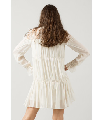 Платье TWIN-SET JA72EW кремовое