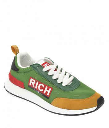 Мужские кроссовки JOHN RICHMOND 1324 зеленые