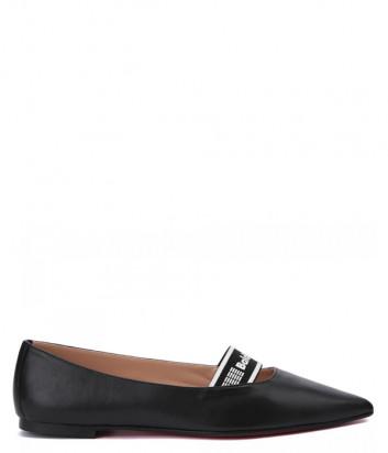 Кожаные туфли BALDININI 098520 черные