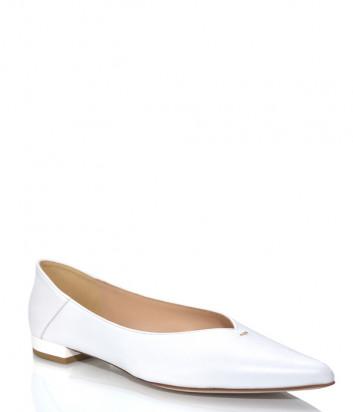Кожаные туфли FABIO RUSCONI 5380 белые