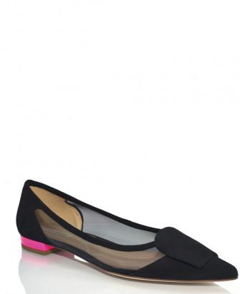 Замшевые туфли FABIO RUSCONI 5303 черные