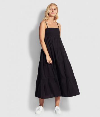 Длинное платье Seafolly 53862-DR черное