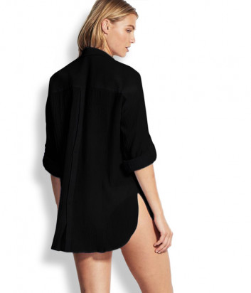 Рубашка Seafolly 54027-TO черная