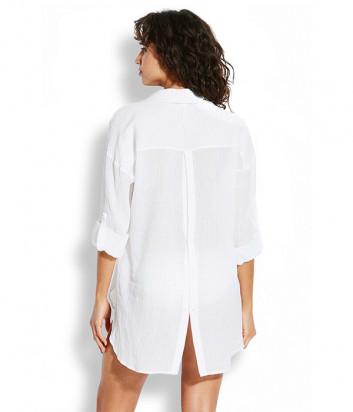 Рубашка Seafolly 54027-TO белая