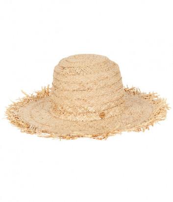 Соломенная шляпа SEAFOLLY 71566-HT бежевая
