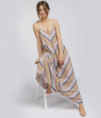 Длинное платье GISELA 32074 в принт