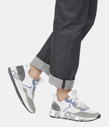 Мужские кроссовки VOILE BLANCHE 2014828 серые