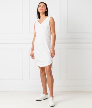 Спортивное платье EA7 EMPORIO ARMANI 3GTA56 TJ28Z белое