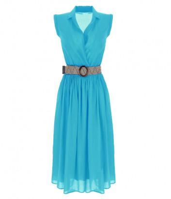 Платье IMPERIAL AA7BZVK бирюзовое