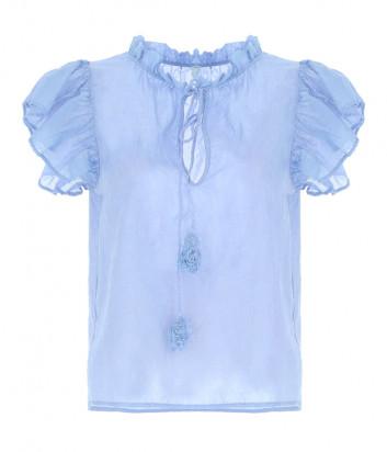 Блуза IMPERIAL REN9ZVK голубая