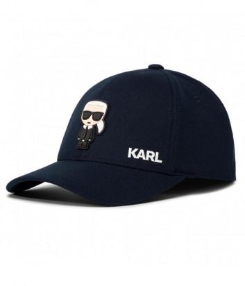 Бейсболка KARL LAGERFELD Ikonik 805610 501118 синяя