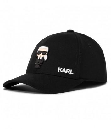 Бейсболка KARL LAGERFELD Ikonik 805610 501118 черная