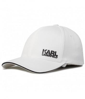 Бейсболка KARL LAGERFELD 805616 501122 белая