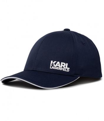 Бейсболка KARL LAGERFELD 805616 501122 синяя