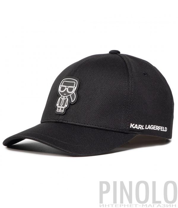 Бейсболка KARL LAGERFELD Ikonik 805619 501121 черная