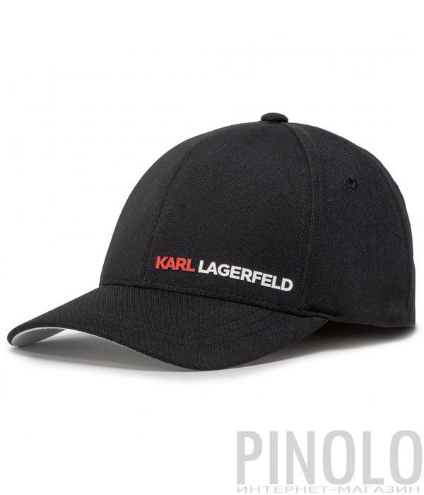 Бейсболка KARL LAGERFELD Ikonik 805611 501118 черная