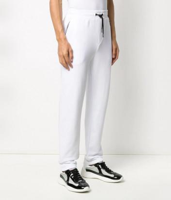 Трикотажные штаны KARL LAGERFELD Ikonik 705026 501900 белые