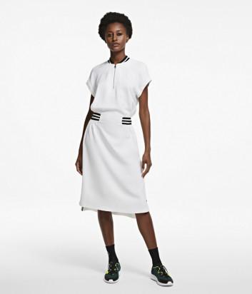 Платье KARL LAGERFELD 205W1304 белое