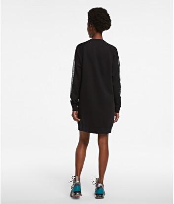 Платье-толстовка KARL LAGERFELD 205W1853 черное