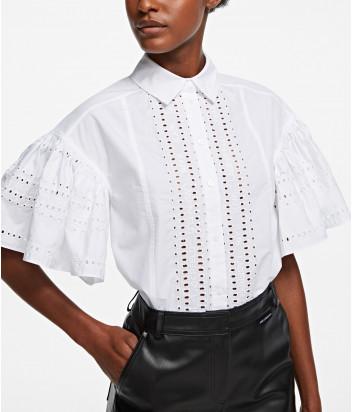Рубашка KARL LAGERFELD 205W1609 с короткими рукавами белая