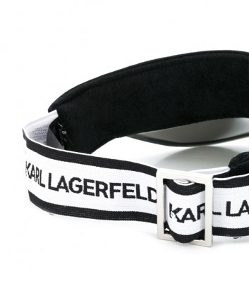Козырек KARL LAGERFELD Ikonik 205W3401 черный