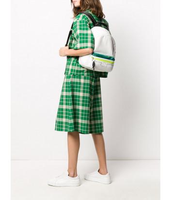 Нейлоновый рюкзак KARL LAGERFELD 205W3040 белый с яркими вставками