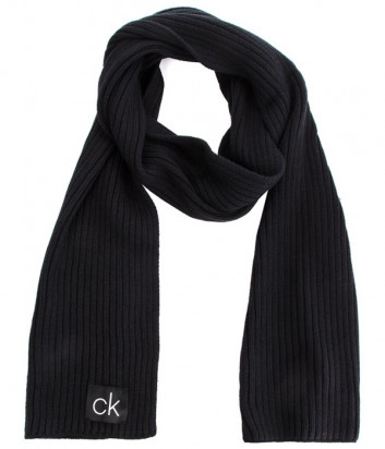 Шарф CALVIN KLEIN Basic Rib K50K504089 черный