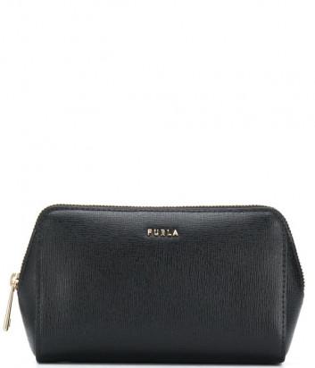 Кожаная косметичка FURLA Electra EAW2LN1 черная
