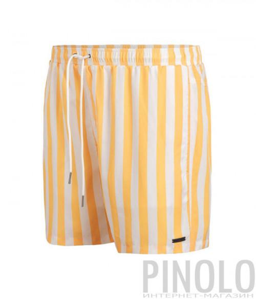 Шорты для плавания BEACHLIFE Stripe 090201-163 в желтую полоску