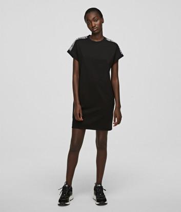 Платье KARL LAGERFELD 205W1352 черное