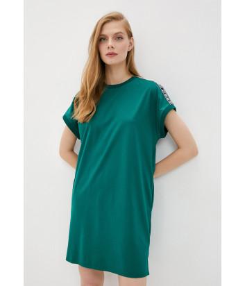 Платье KARL LAGERFELD 205W1352 зеленое