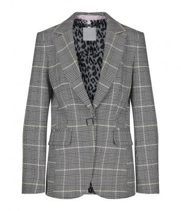 Серый пиджак SPORTALM 948059089 в клетку